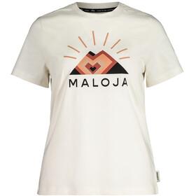Maloja GoldnesselM. SS T-Shirt Women, vintage white
